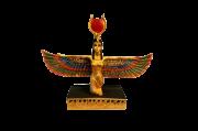 Estátua Isis Deusa Do Amor Colorida 17cm