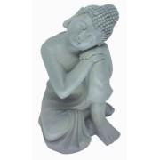Estatueta Decorativa Buda - 24,5x27,5x36 Cm