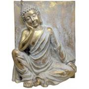 Estatueta Decorativa Buda 40.7x15.4x50.5 Cm