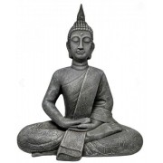 Estatueta Decorativa Buda 49,5x27,5x61,5cm