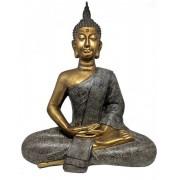 Estatueta Decorativa Buda 49.5x27.5x61.5cm
