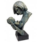 Estatueta Resina Colo De Mãe 23,5x15,5x37cm
