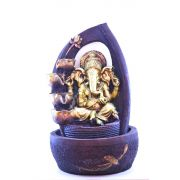 Fonte Zen De Água Ganesha Grande 60cm Resina