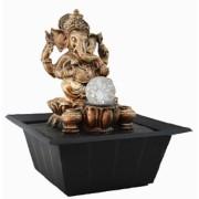 Fonte Ganesha Ouro Velho com Bola