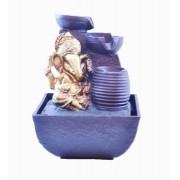 Fonte P Ganesha com Vaso