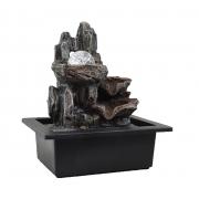 Fonte Zen De Água Pedras Com Bola