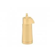 Garrafa Térmica Pump Ampola de Vidro Ouro 24k 1 Litro Riva
