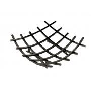 Grelha p/ lareira G (suporte queimador) quadrado ferro quadrado 1/2