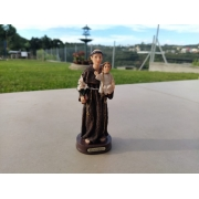 Imagem Santo Antônio Casamenteiro Escultura 14cm