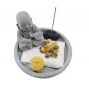Jardim Zen C/ Buda De Cimento Importação