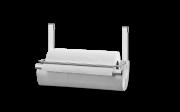 Kit Suporte Para Papel Toalha 27 X 15 X 20 Cm + Barra 45 Cm - Spazio Brinox