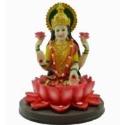 Estatua Enfeite Imagem de Lakshmi De Resina Importado