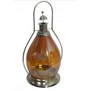 Lanterna Indiana Classic Yellow - Metal e Vidro