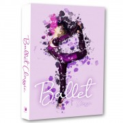 Livro Caixa Decorativo Book Ballet Classic 36x27x5cm