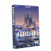Livro Caixa Decorativo Book Box Barcelona