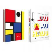 Livro Caixa Decorativo Book Box Bauhaus
