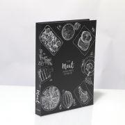 Livro Caixa Decorativo Book Box  Meat