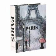 Livro Caixa Decorativo Book Box Paris