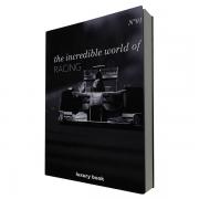 Livro Caixa Decorativo Formula 1 Racing
