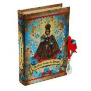 Livro Caixa Menino Jesus de Praga 15x24x5cm