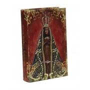 Livro Ref. Divino N. Sra. Aparecida 14x9x3cm