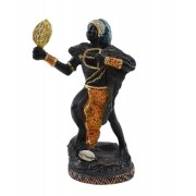 Estatua Orixá IMagem de Logunedé Pequeno