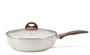 Panela Wok Ceramic Life Smart Plus Com Tampa 3,4L Brinox - Vanilla