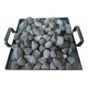 Pedras Vulcânicas Churrasqueira Lareira Sauna 3kg