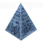 Pirâmide G Prata de Metal Importação
