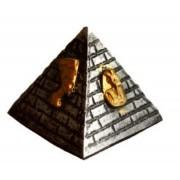 Pirâmide Prata Egípcia P De Resina