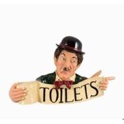 Placa Chaplin Resina Toilets