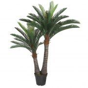 Planta Artificial Palmeira Com Folhas Longas 150Cm