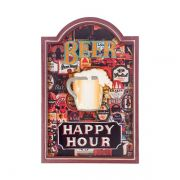 Quadro Decorativo Beer Happy Hour