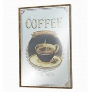 Quadro Espelhado Coffee Oldway 60x40x3,5cm