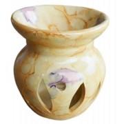 Rechaud Amarelo G De Cerâmica Importado