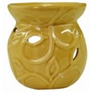 Rechaud De Cerâmica Amarelo Importado