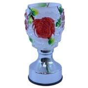 Rechaud Elet 110v Flor Vermelha Importado