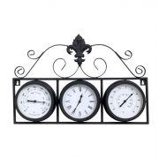 Relógio Com Termômetro E Higrômetro