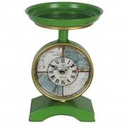 Relógio de mesa em metal Tipo Balança