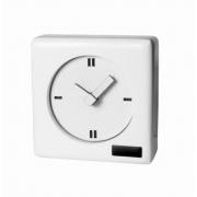 Relógio De Mesa Laca Branco