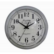 Relógio De Parede Anne Silver G