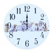 Relógio De Parede Cachorros