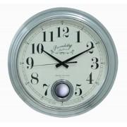 Relógio De Parede Edith Silver G