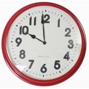 Relógio De Parede Sue Red