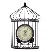 Relógio Formato Gaiola 53x34x13cm