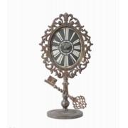 Relógio Mesa Arabescos Keysbase 52x27x3cm