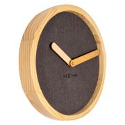 Relogio Parede Calm Brown Wood 30Cm Nextime