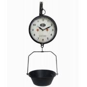 Relógio Parede Com Bandeja Preto