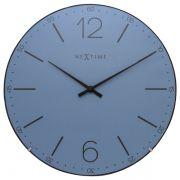 Relógio Parede Index Dome Blue Nextime