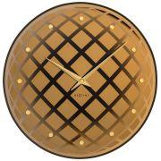 Relógio Parede Pendula Round Copper Nextime D=43cm